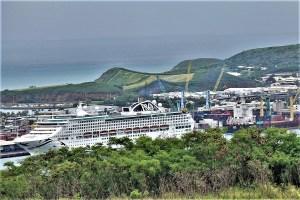 Cruise Ship in Nouméa, New Caledonia