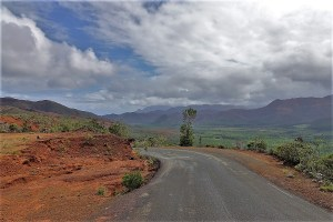 Mountain landscape in New Caledonia