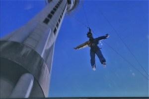 Sky jump Sky Tower Auckland