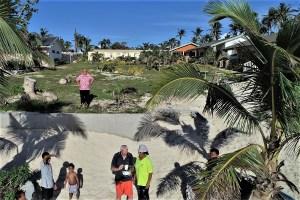 Hans-Jürgen Briest at the Vakaloa Beach Resort Tonga