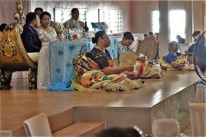 Hochzeitsfeier auf Tonga