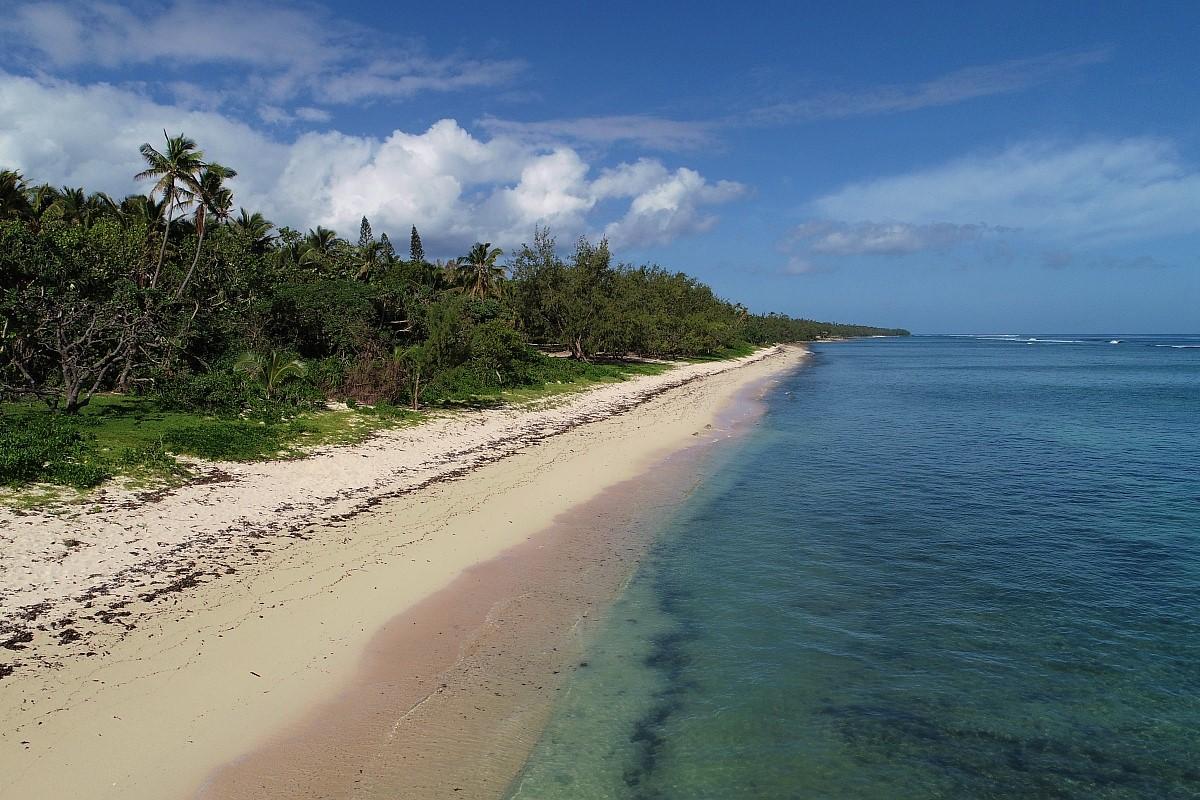beach on Tonga