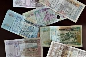 Geldscheine Mongolei