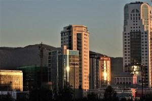 Hochhäuser in Ulaanbaatar