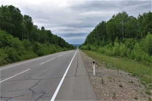 Highway in Siberia
