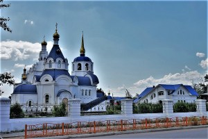 Odigitrievsky-Cathedral Ulan Ude, Russia