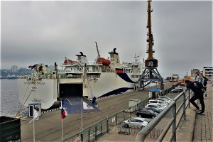 Ferry terminal Vladivostok