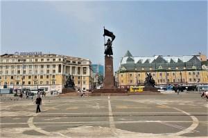 Denkmal für die sowjetischen Kämpfer in Fernost Wladiwostok