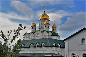 Russisch-Orthodoxe Kirche in Barnaul