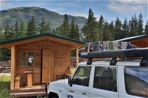 Campsite in Aktash