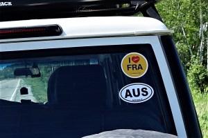 Australischen Nationalitätskennzeichen