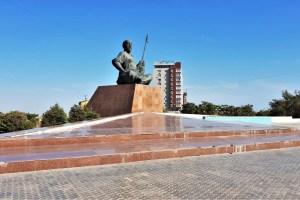Denkmal in Aktau