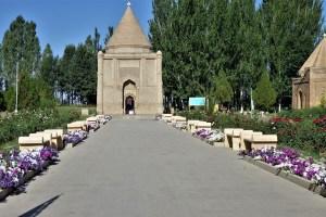 Mausoleum von Aisha Bibi, Kasachstan