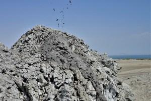 Mud vulcanoes Gobustan, Azerbaijan