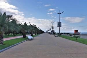 Seafront Promenade Batumi, Georgien
