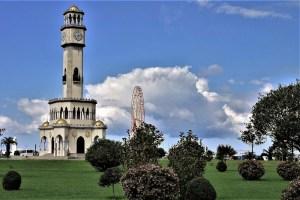 Chacha Uhrenturm Batumi, Georgien