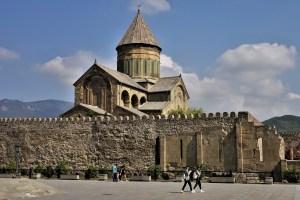 Swetizchoweli Kathedrale Mzcheta, Georgien