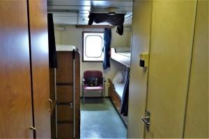 Kabine auf der Fähre übers Schwarze Meer