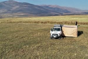 Zelten in Armenien
