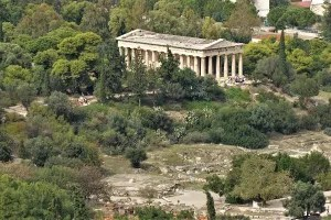 Hephaestus Temple on the Ancient Agora, Athens