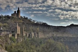 Tsarevets Fortress and Patriarchal Cathedral, Veliko Tarnovo, Bulgaria