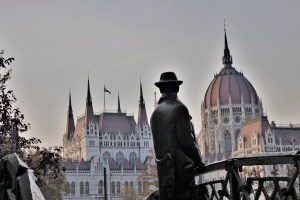 Denkmal für Imre Nagy Budapest, Ungarn