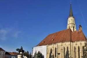 St. Michael's Church Cluj-Napoca, Romania