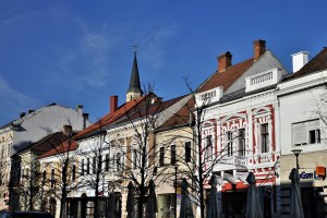 Downtown Cluj-Napoca, Romania