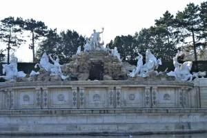Neptun Fountain Schönbrunn Palace Vienna, Austria