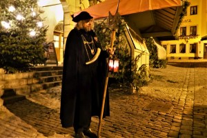 Nachtwächter Rothenburg ob der Tauber, Deutschland