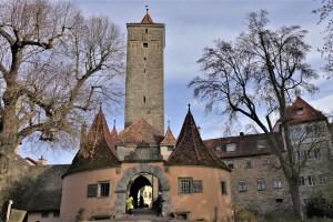 Stadttor Rothenburg ob der Tauber, Deutschland