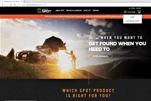findmespot.com website activation