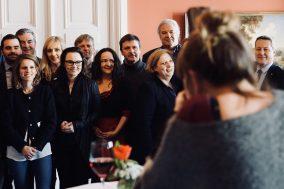 Gemeinsamer Fototermin in der Parlamentarischen Gesellschaft
