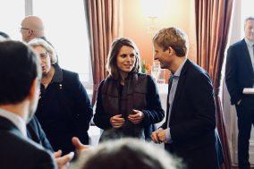 Rüdiger Kruse und Marie Lebec im Gespräch