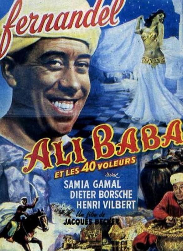 Ali Baba Et Les 40 Voleurs Fernandel : voleurs, fernandel, VOLEURS, RueDuCine, Notations, Films