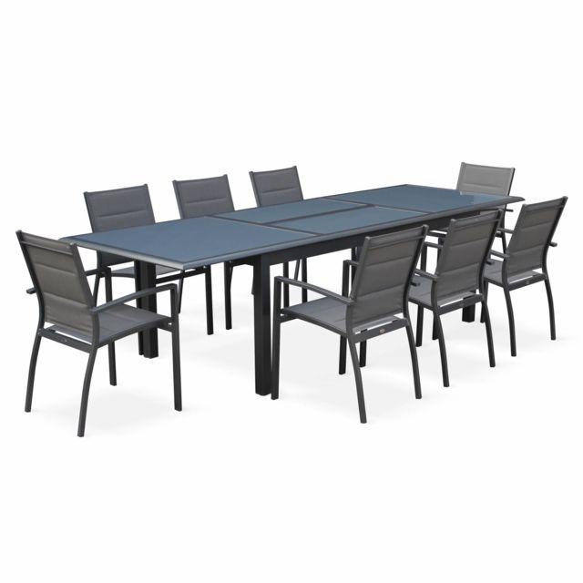 Alice Garden Table 8 Fauteuils