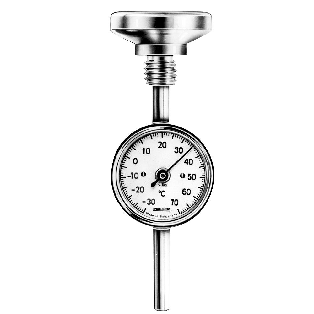 Rüeger : Bimetallic thermometers