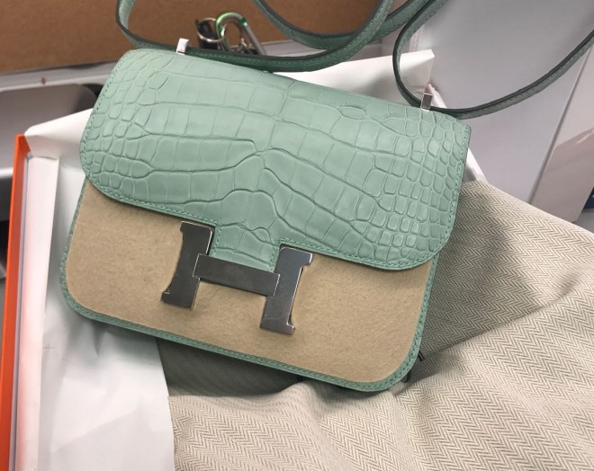Hermes Constance 18 Vert de Eau Alligator.JPG