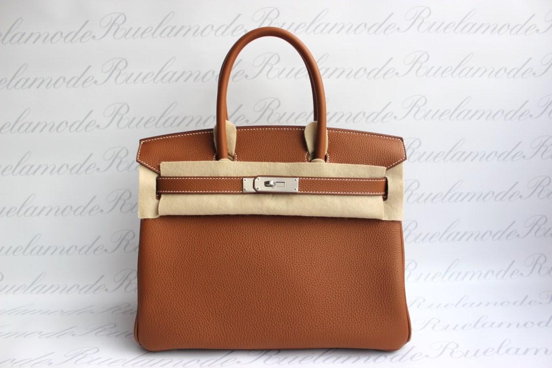 285d9dde0f Brand New Hermes Birkin 30 Gold Togo PHW SOLD – Ruelamode