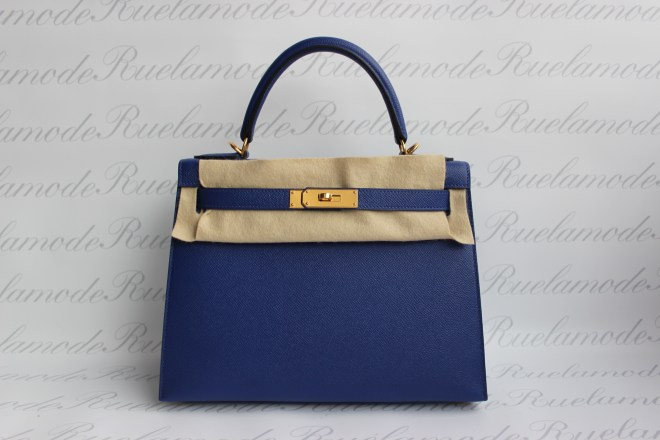 Hermes Kelly 28 Blue Electric Epsom GHW.JPG