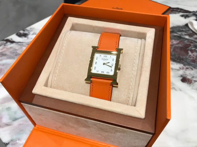 Hermes H Hour MM Orange steel .jpg