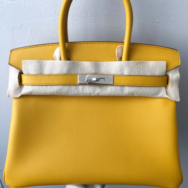 Hermes Birkin 30 Jaune amber phw.JPG