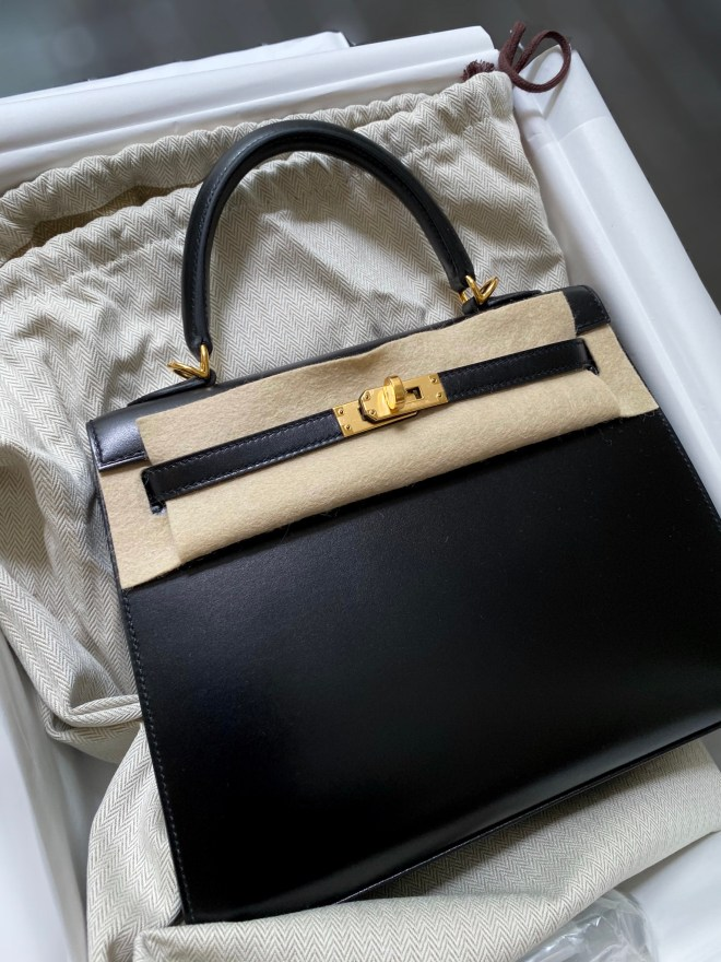 hermes kelly 25 black box ghw.JPG