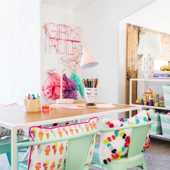 Target Pillowfort Chair 2 And Table Set Emily Henderson Transforms A Playroom With The