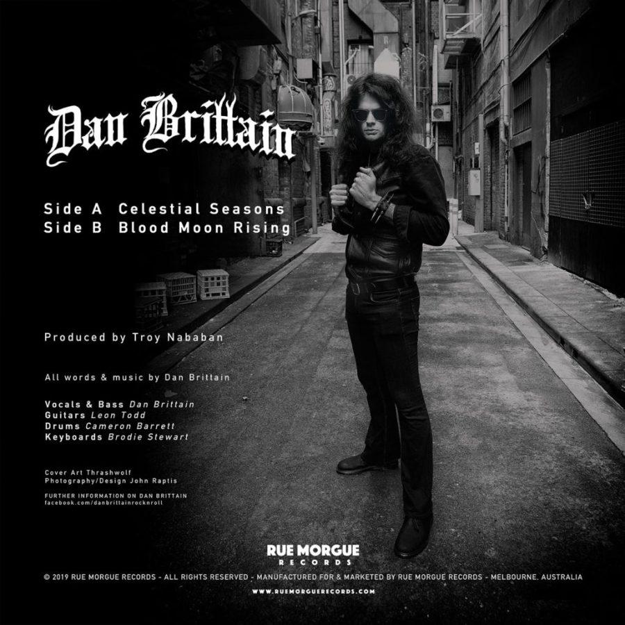 "Dan Brittain: Celestial Seasons (Limited Edition 7"")"