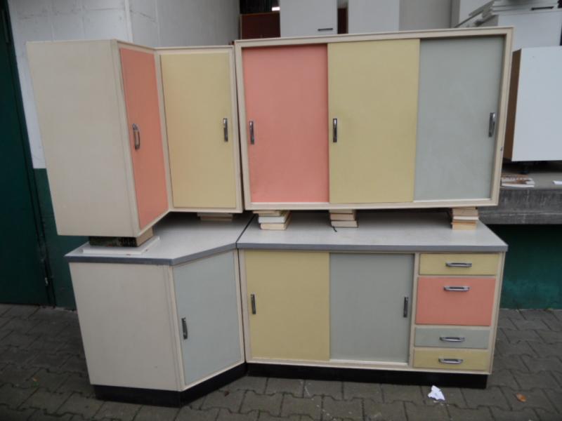 Ruempelstilzchen 50er Jahre Küchenzeile Rockabilly