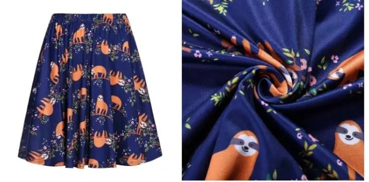 חצאית עצלן