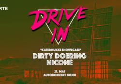 Dirty Doering und Niconé am 22. Mai in Bonn