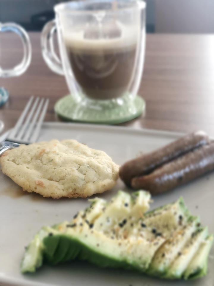 Gluten Free Garlic Herb Drop Biscuits