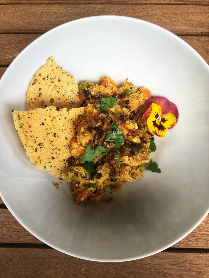 Cauliflowe Rice Biryani 1
